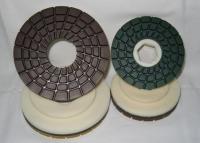 Ściernice diamentowe z uchwytem na szybkozłącze (ślimak)